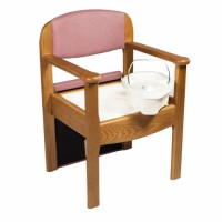 SILLA WC DE MADERA ROYAL