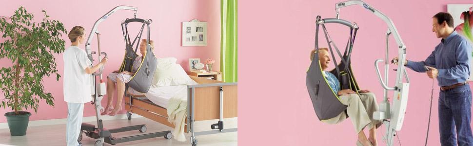 Grúas para Enfermos. Funcionalidad y Eficacia
